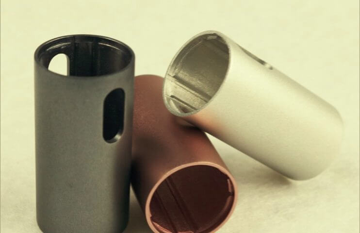 Anodized Aluminum Part