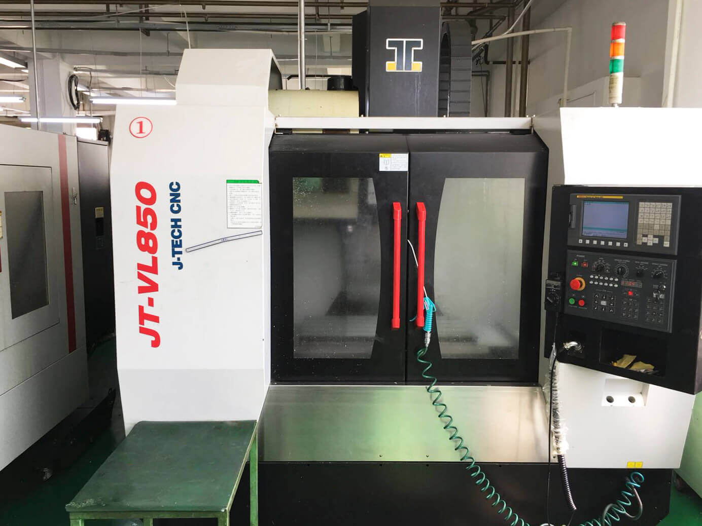 Four-axis Machining Center